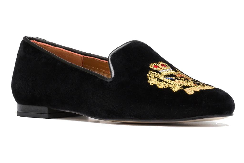 smoking slipper, loafer, jon josef