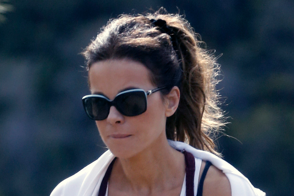 Kate Beckinsale's Personality Shines Through in the Wildest Pajamas & Ultra Chunky Sneakers on Set