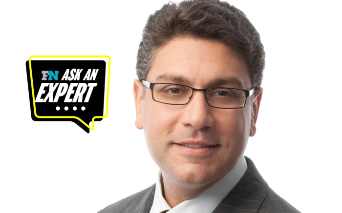 Headshot of Keith Turco President of Evrythng overlaid with Ask An Expert series logo