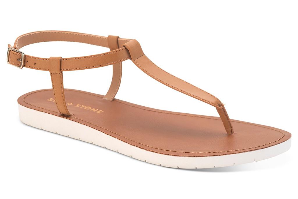 thong toe sandals, t-strap sandals, sun