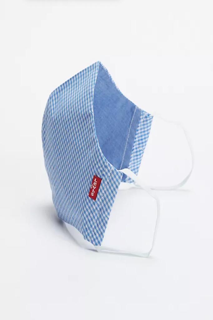 Levi's, Reusable Reversible Printed Face Mask, Face Mask Sale, Plaid Face Mask