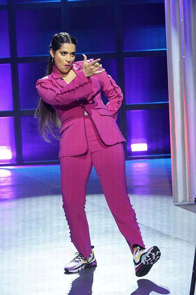 A LITTLE LATE WITH LILLY SINGH -- Episode 159 -- Pictured: Lilly Singh -- (Photo by: Scott Angelheart/NBC)