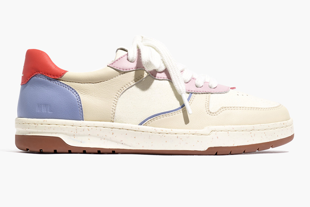 Madewell, Court sneaker, sustainability