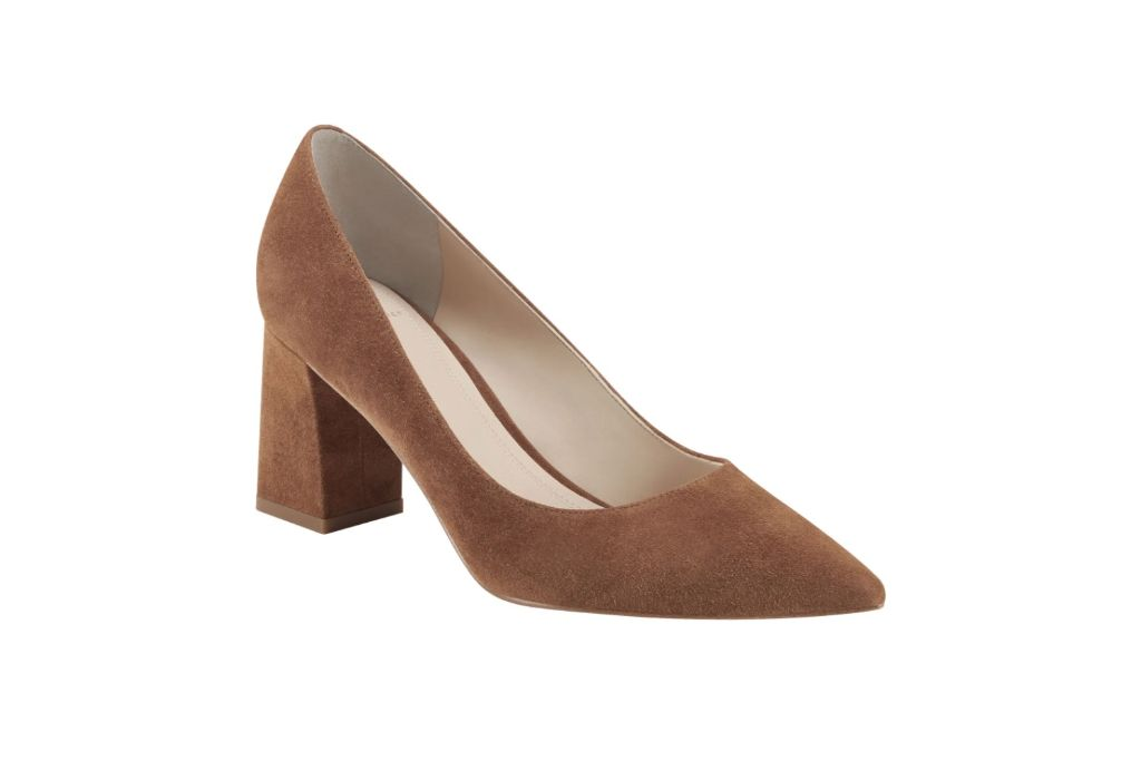 march fisher ltd, zala block heel pump, brown heels