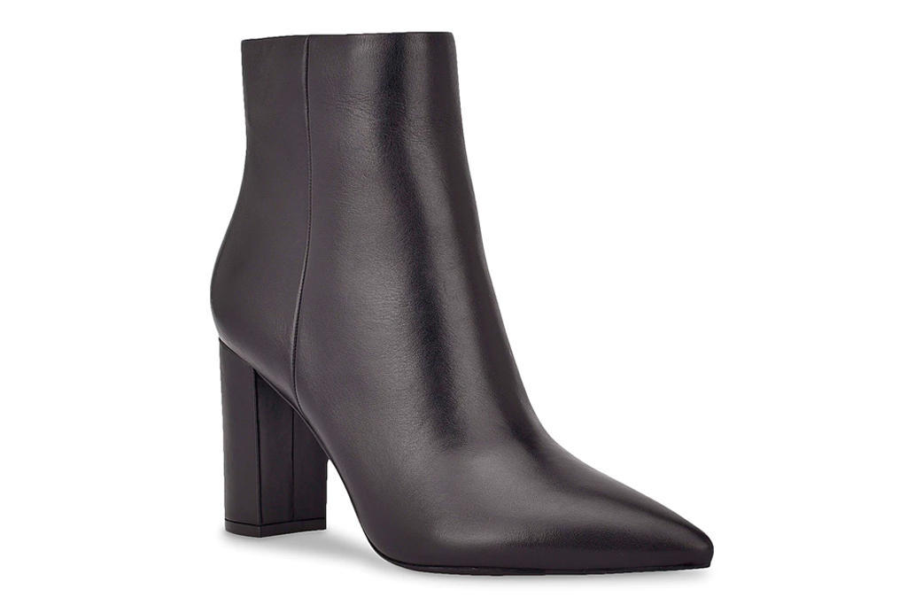 black booties, boots, marc fisher