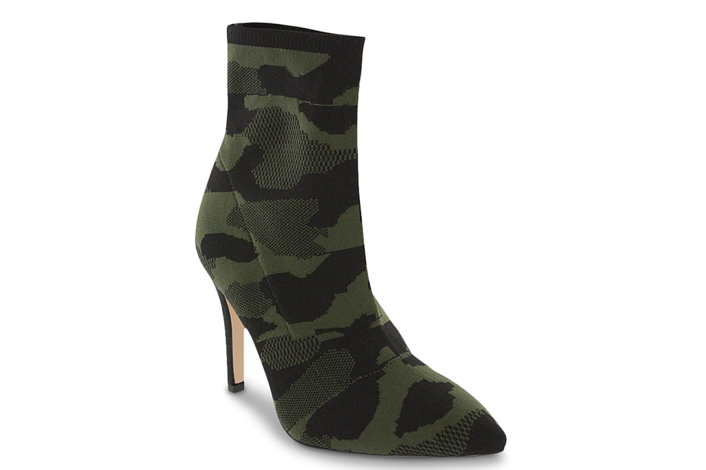 camo boots, camouflage boots, pointed-toe, miiia mckinley