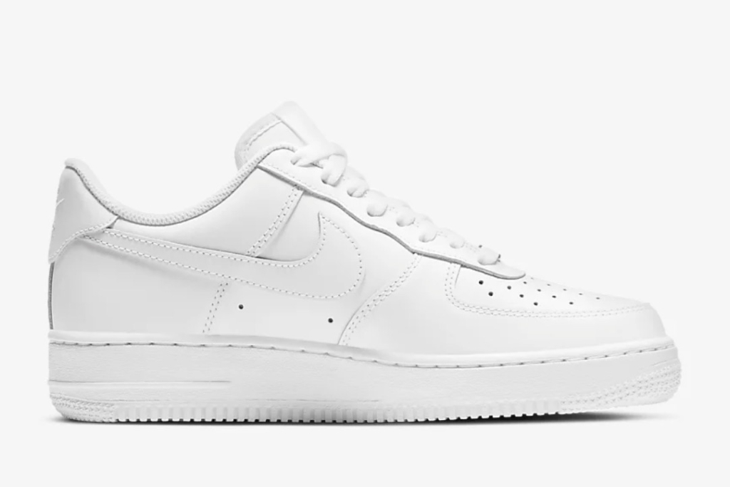 nike air force 1, white sneakers, nike