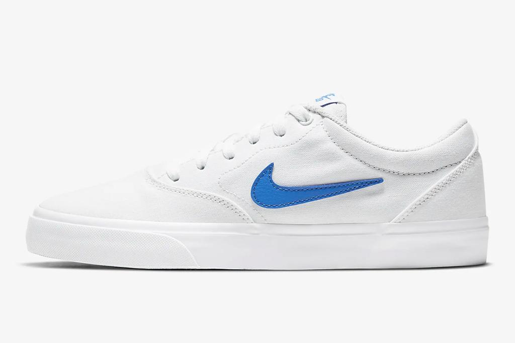 nike, sneakers, white, sb, skate