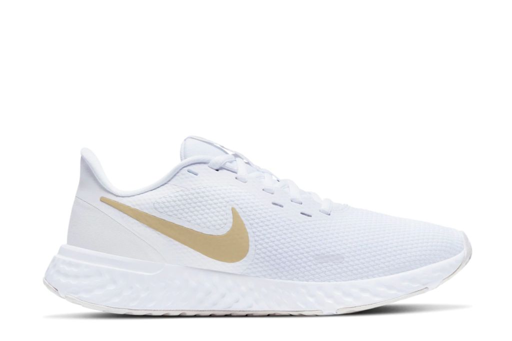 nike revolution 5 running shoe, mesh sneakers, white sneakers
