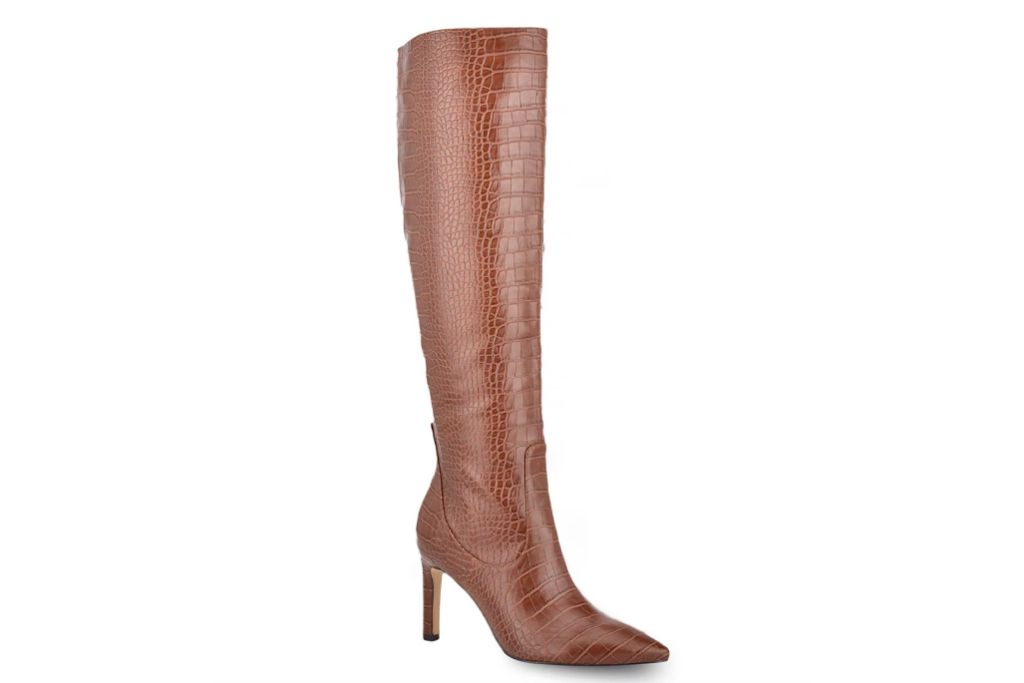 Nine West Maxim Leather Knee High Boots