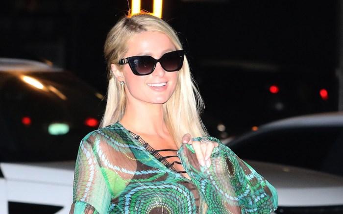 Paris Hilton date night carter reum