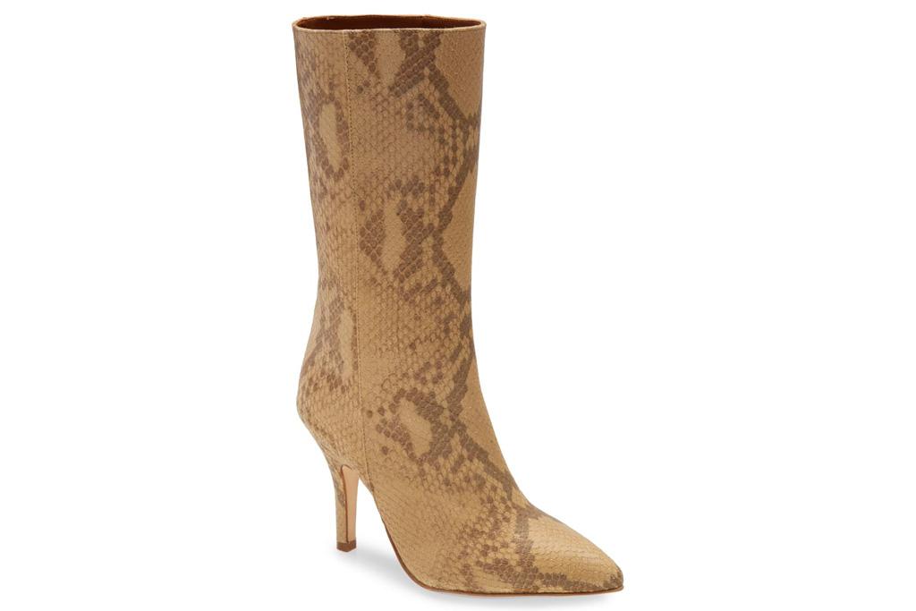 snakeskin boots, paris texas