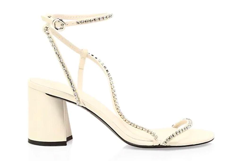 sandals, glittering, heels, philip lim