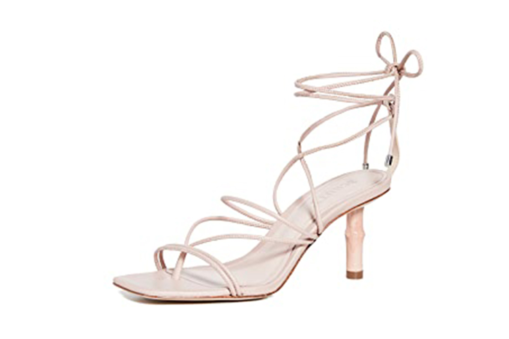 pink schutz sandal, pink shoe, pink sandal