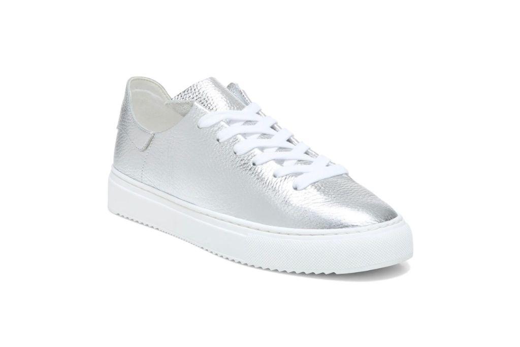 Sam Edelman Poppy Sneaker, silver sneakers