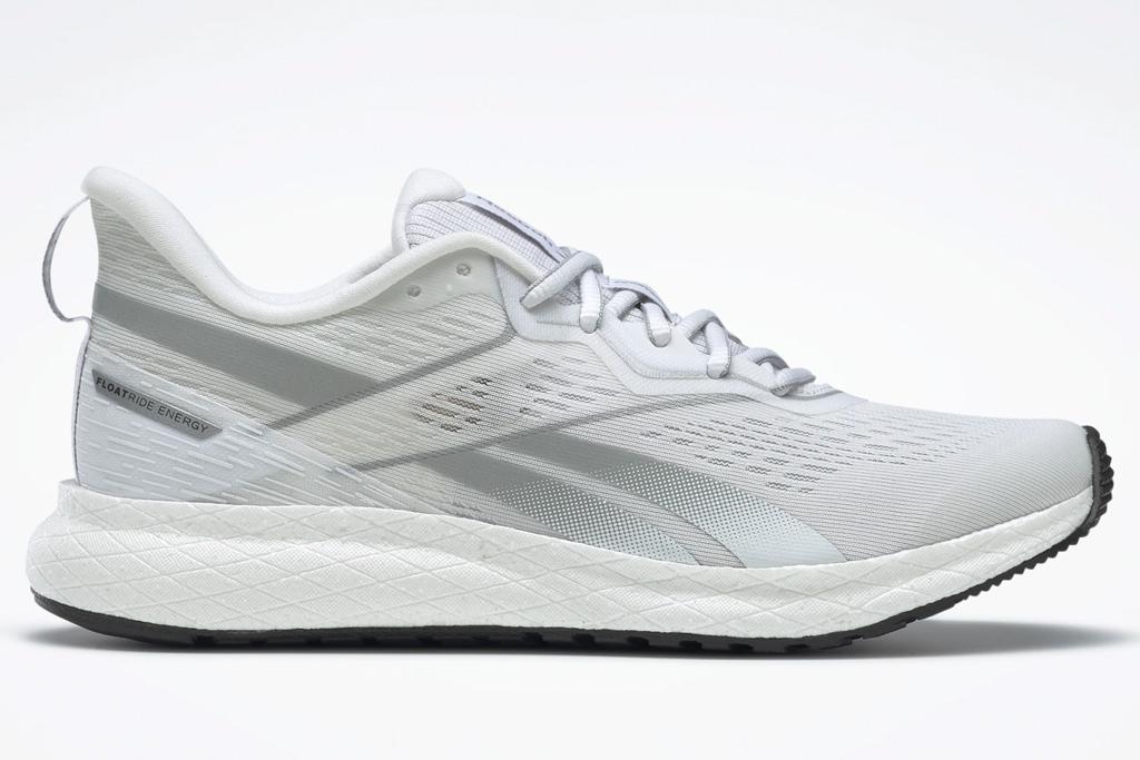 sneakers, running shoes, white, reebok