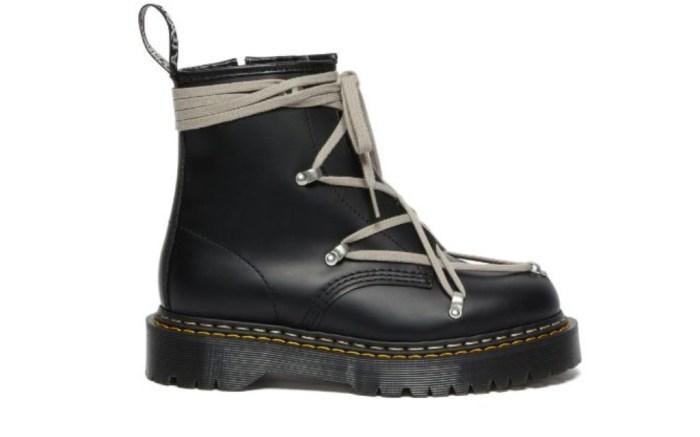 Dr. Martens, Rick Owens, 1460 Bex platform sole boot