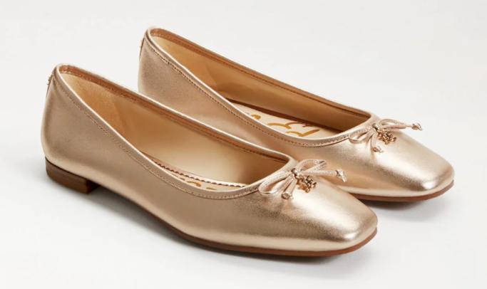 sam edelman jillie flat, best flat wedding shoes