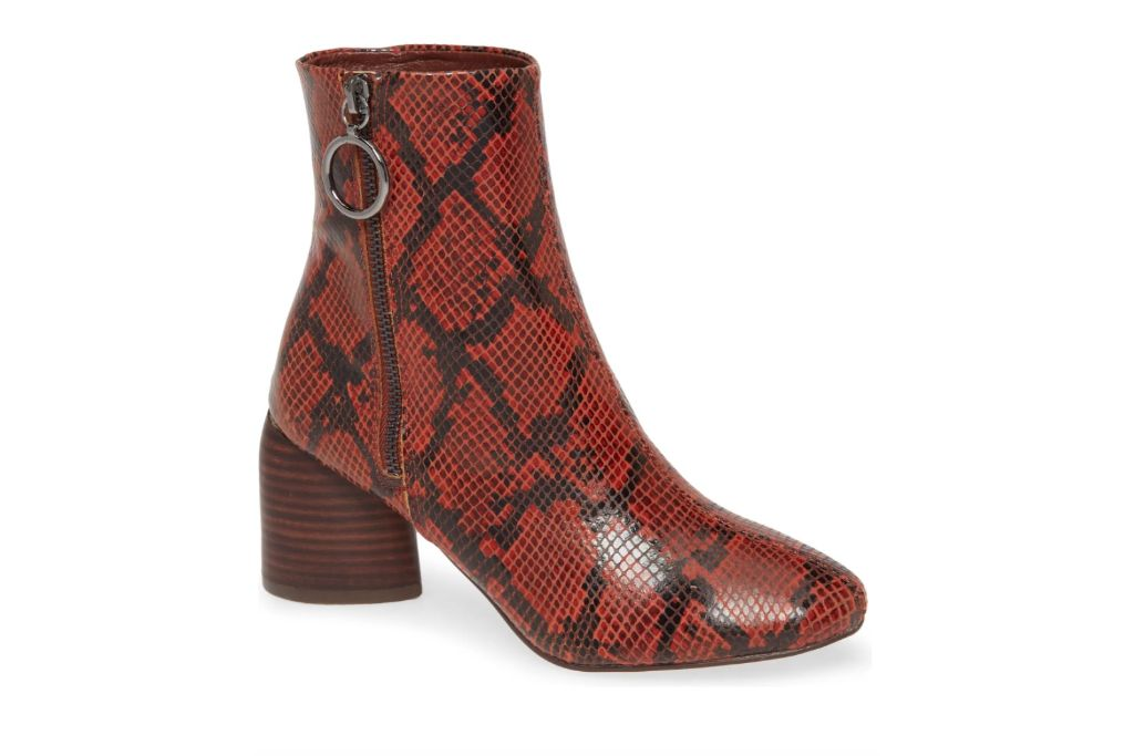 Sbicca Swamee Bootie, red booties