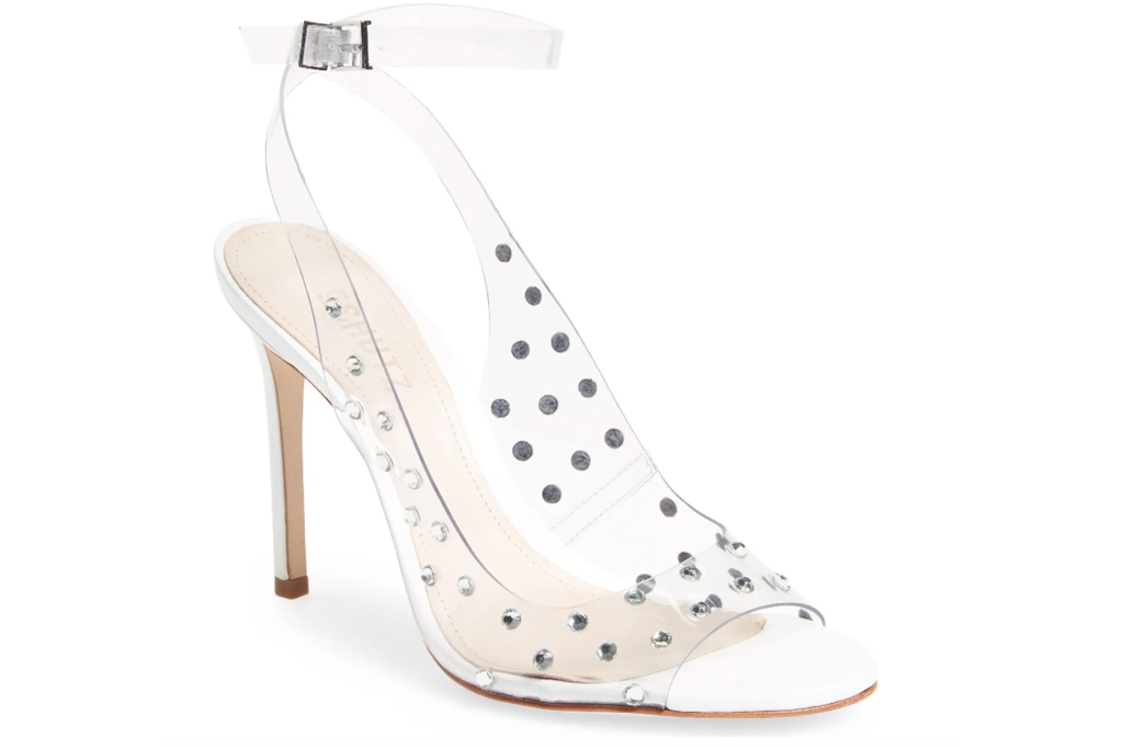studded heels, schutz