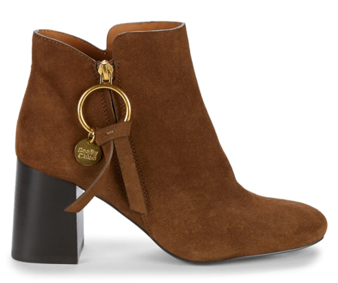 see by chloe boots, saks friends and family sale
