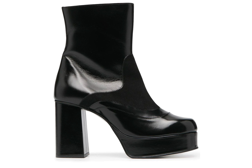 round toe boots, platform, see by chloe