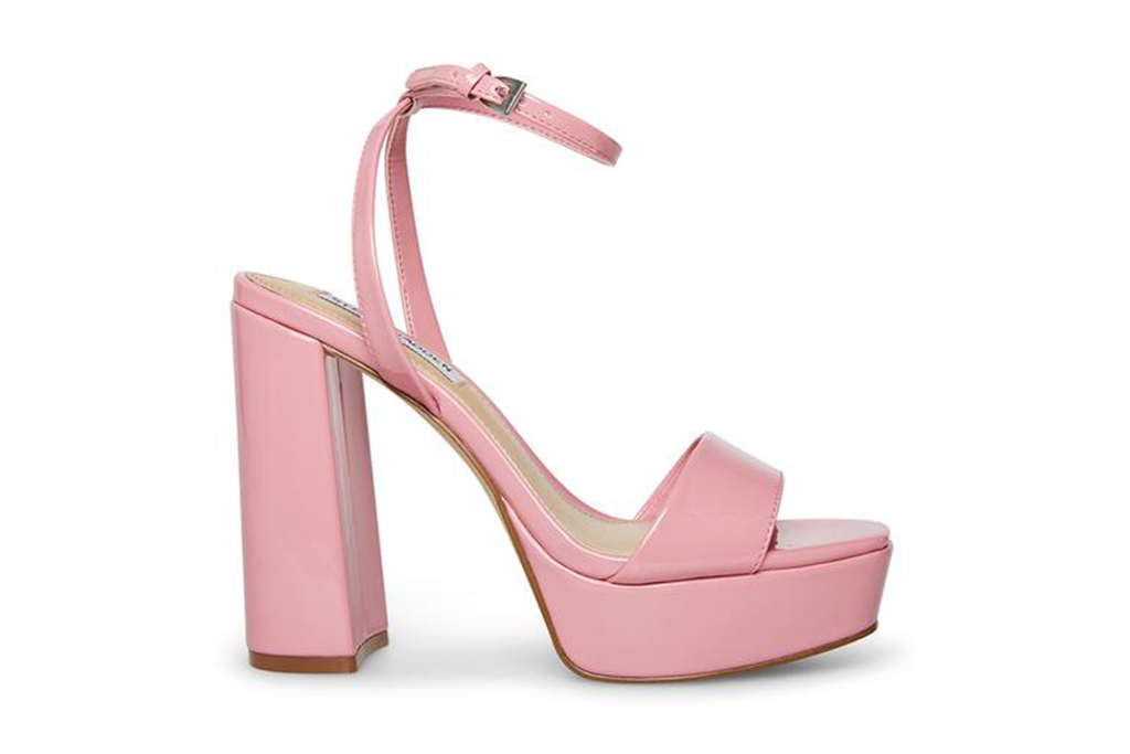 steve madden, pink platform, pink shoes