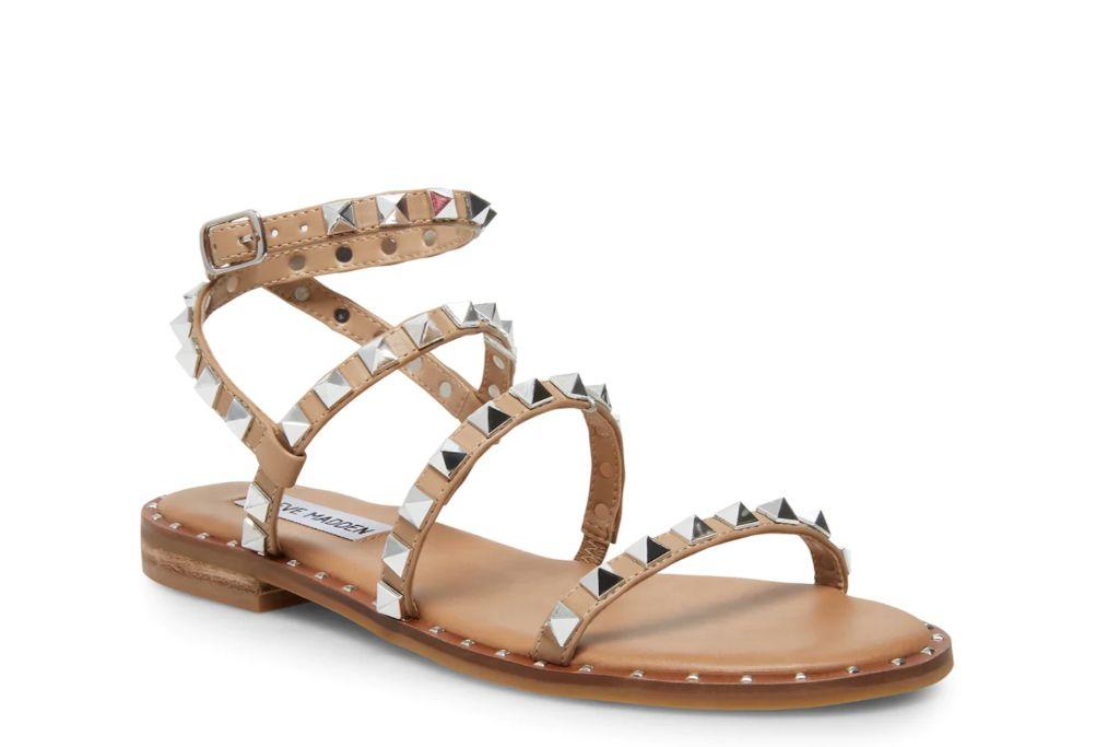 steven madden, travel sandal, studded sandal