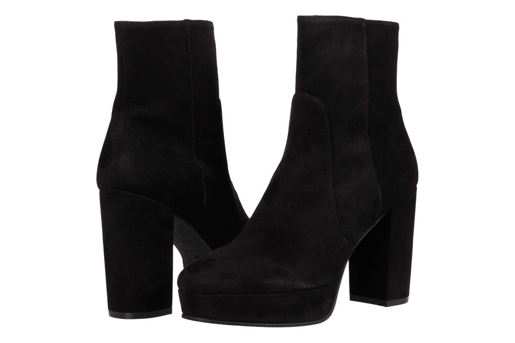 round toe boots, platform, stuart weitzman