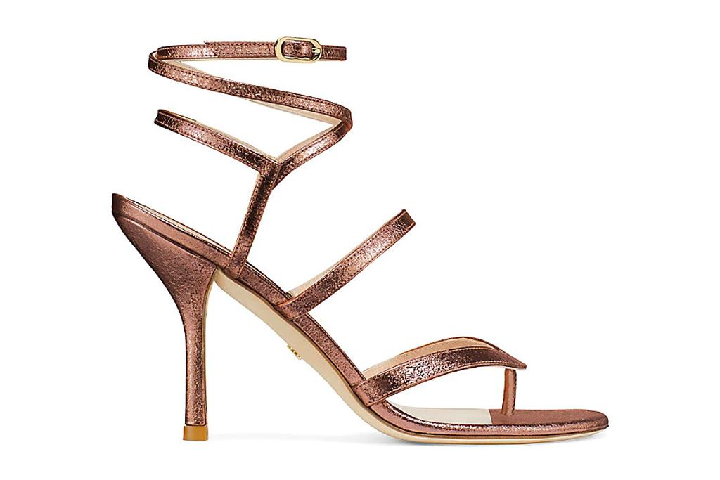 brown sandals, heels, stuart weitzman