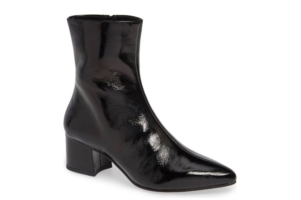 Vagabond Shoemakers, Mya Pointy Toe Booties, Black Booties
