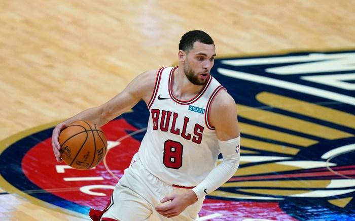 Chicago Bulls Zach LaVine NBA All-Star Game 2021