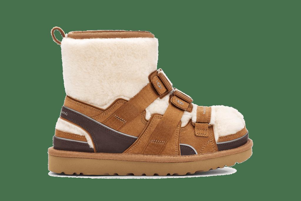 ugg, ugg feng chen wang, feng chen wang, ugg feel you, ugg telfar, ugg collaboration, ugg boots, boots, shoes, shoe designer