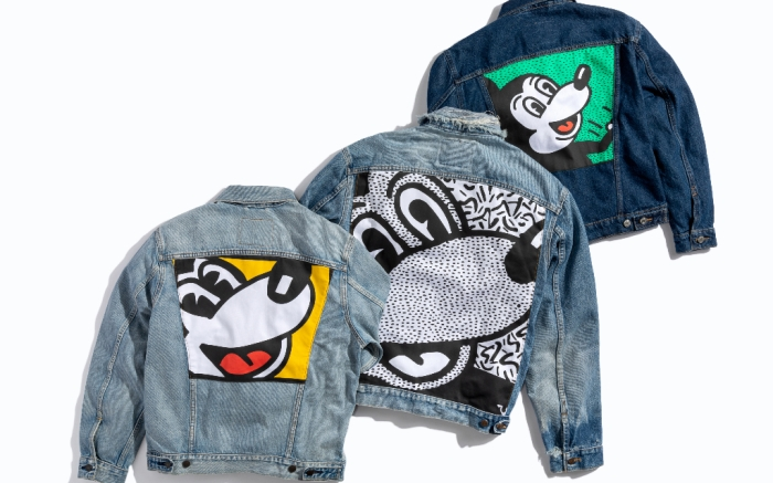Levi's, Keith Haring, Mickey Mouse, Collab, Denim Jackets
