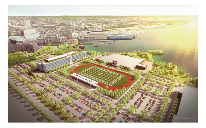 Under Armour new global headquarters Port Covington Baltimore