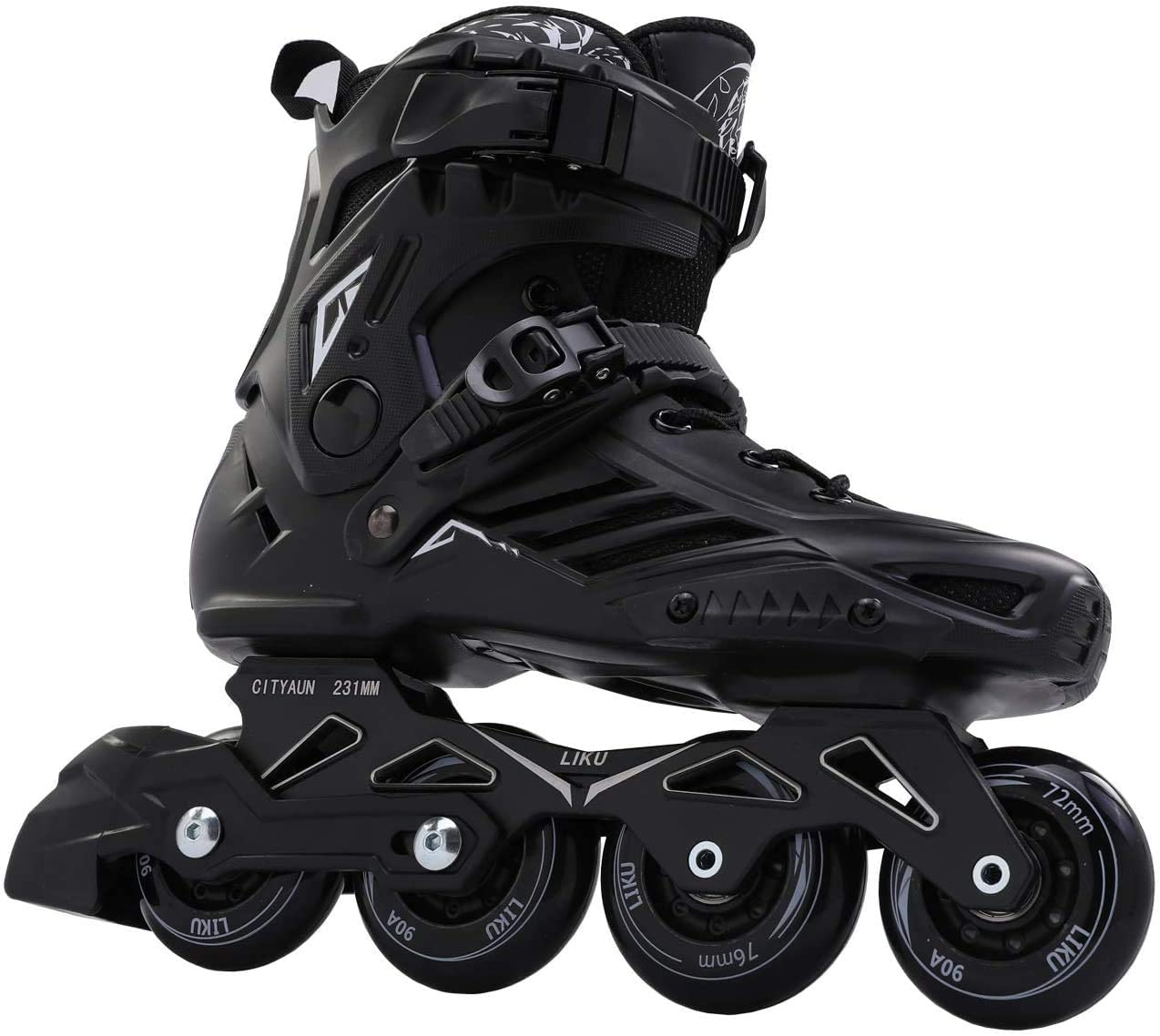 LIKU Black Professional Inline Skates, best mens rollerblades