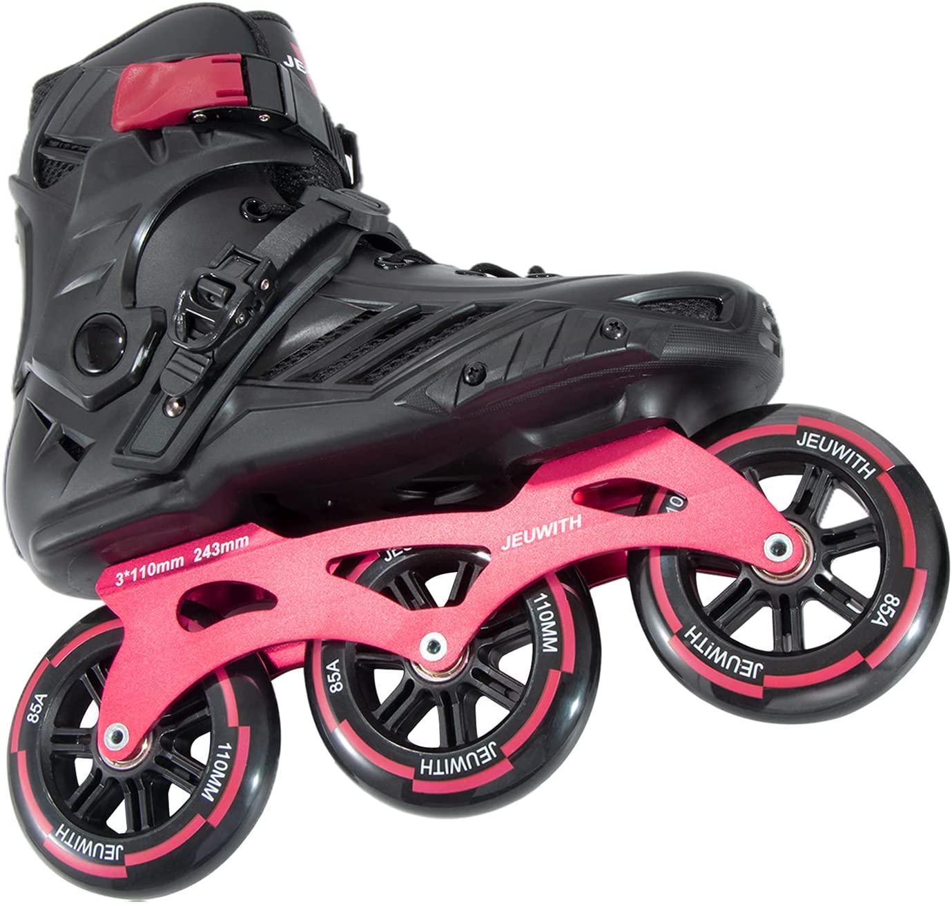 JEUWITH 3-Wheel Fitness Inline Skates, best rollerblades for men