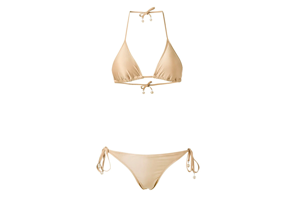 bikini, beige, amir