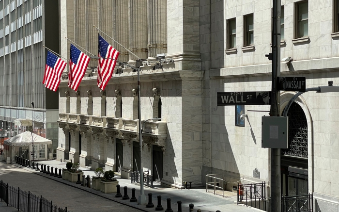 Photo by: STRF/STAR MAX/IPx 2021 4/3/21 Atmosphere at Wall Street in New York City.
