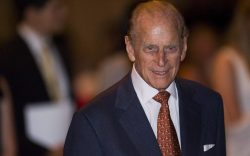 Prince Philip, Duke of Edinburgh presents