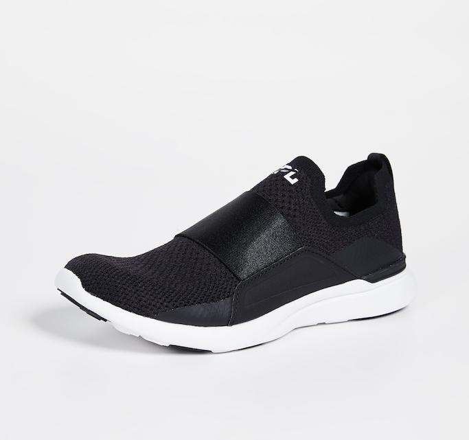 apl sneakers, apl techloom bliss, black sneakers