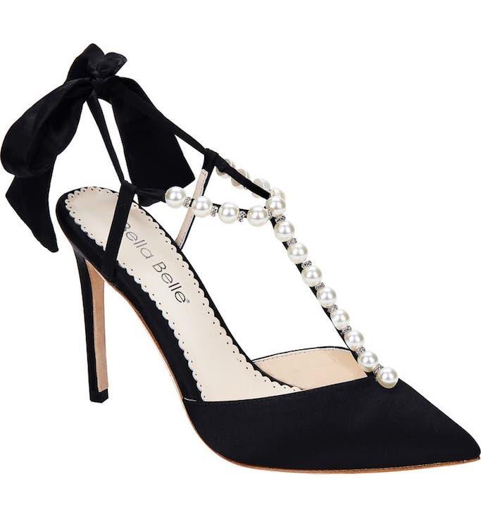 Bella Belle, t-strap pumps, black pumps