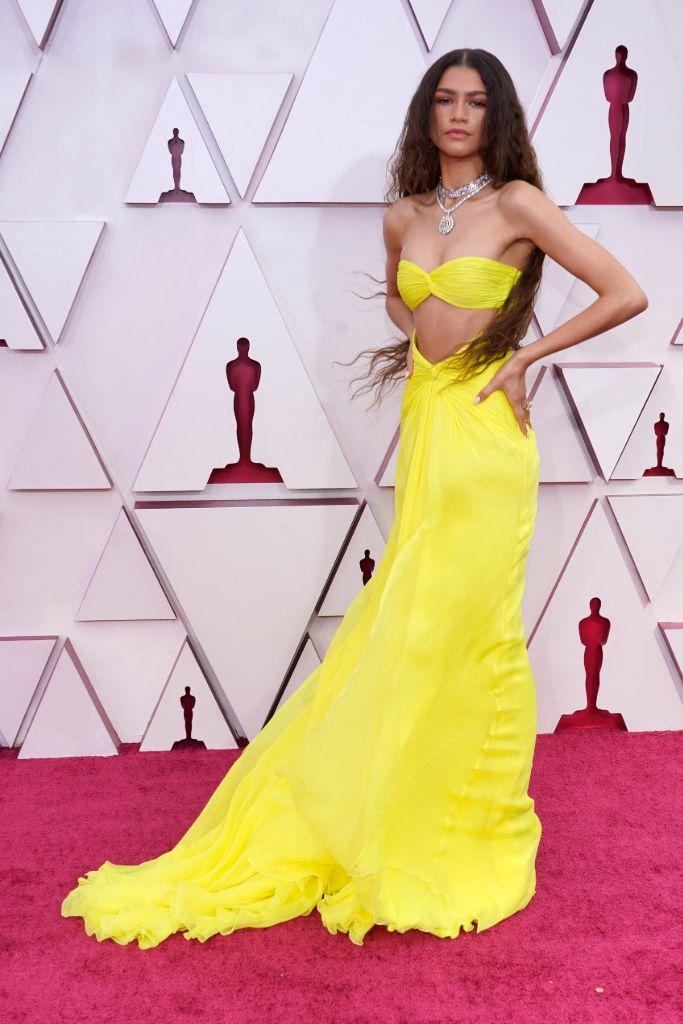zendaya, gown, dress, oscars