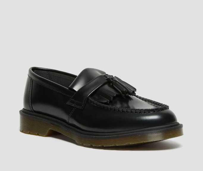 Dr martens, black loafer, platform loafer, chunky sole loafer