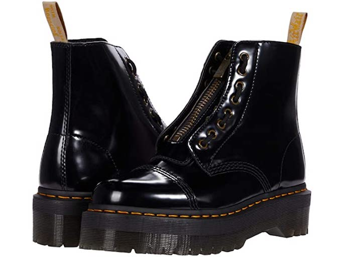 dr martens, chunky sole boots, lug sole boots, combat boots, black boots