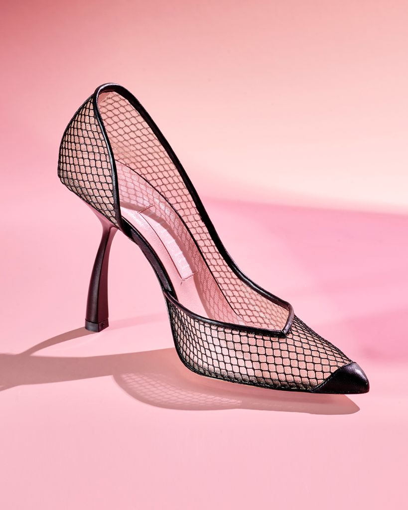 Píferi Ursula mesh pump, earth day, earth day 2021, sustainability, sustainable fashion, sustainable shoes, eco-friendly fashion, eco-friendly shoes, eco-chic, green fashion, sustainable footwear