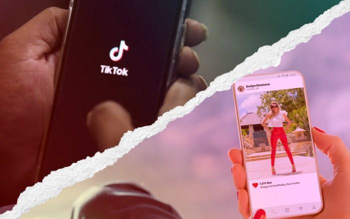 TikTok, Instagram, Marketing