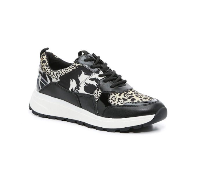 Jlo, jlo for dsw, animal print sneakers