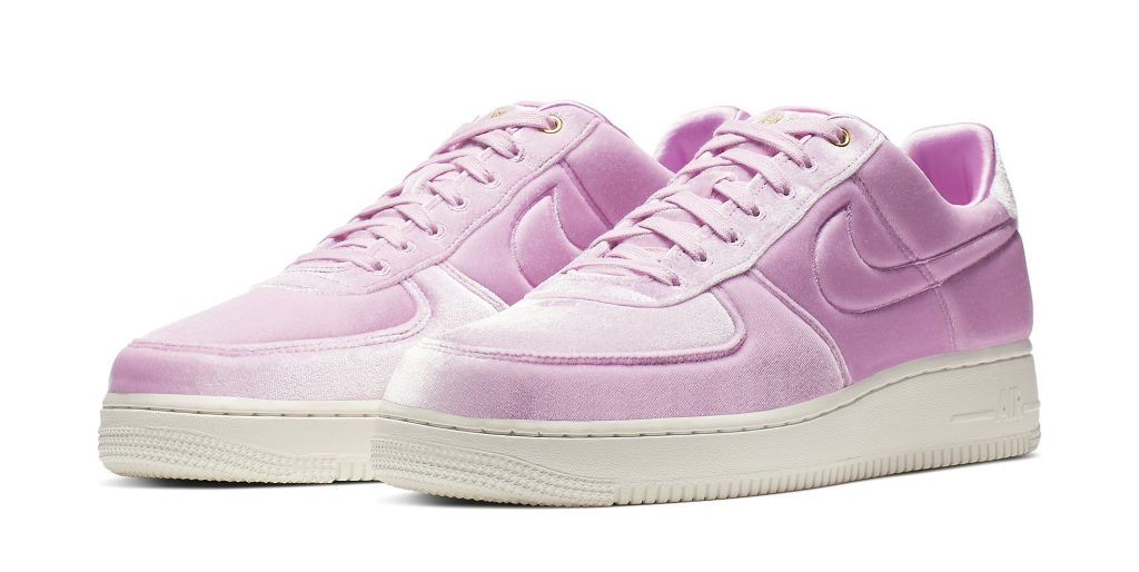 Nike Air Force 1 Low 'Pink Velour'