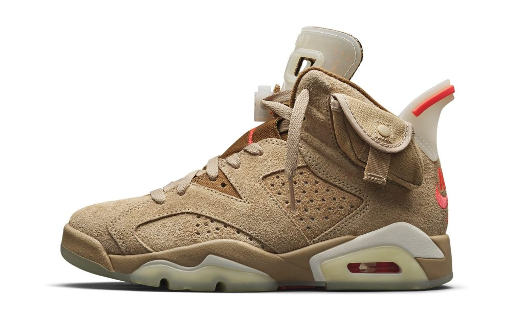Travis Scott x Air Jordan 6 'British Khaki'